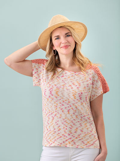 Nurtured Tee Crochet Pattern