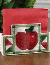 Apple Place Mat, Trivet & Napkin Holder