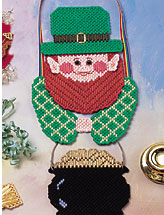 Lucky Leprechaun Holiday Door Hanger