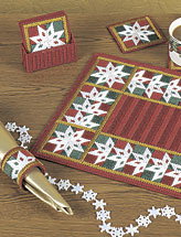 Patchwork Snowflakes Table Set