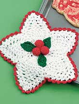 Holly Berry Potholder
