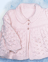 Knitted Lacy Jacket