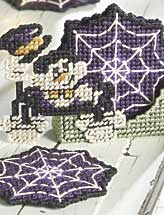 Spooky Spider Coaster Set