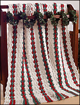 Christmas Shells Afghan