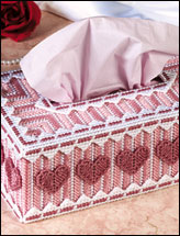 Valentine Hearts Tissue Topper