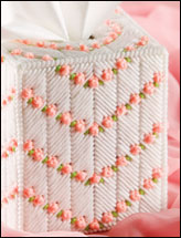 Peaches & Cream Tissue Topper