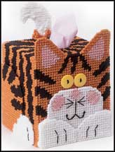 Tiger Kitty Tissue Topper
