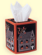 Haunted House Tissue Topper