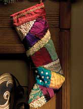 Vintage Patchwork Stocking