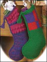 One-Piece Christmas Stockings