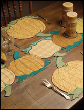 Pumpkin Patch Table Toppers