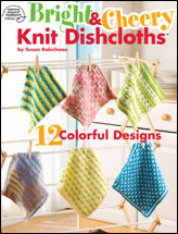 Bright & Cheery Knit Dishcloths