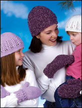 Mother-Daughter Hats & Mittens