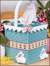 Easter Basket Tissue Topper