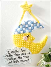 Sleepy Moon Baby Decor