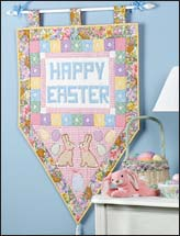 """Happy Easter"" Door Banner"
