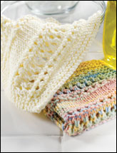 Spring Is in the Air Dishcloths