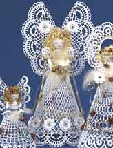 Pineapple angel crochet angel pattern majesta dt1010fo
