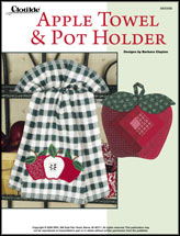 Apple Towel & Pot Holder