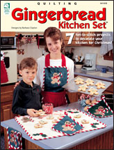Gingerbread Kitchen Set