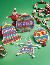 Jewel-Tone Ornaments