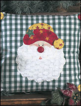 Ho-Ho Santa Pillow