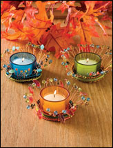 Festive Fall Votives