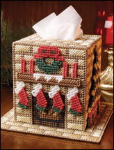 Christmas Home Tissue Topper