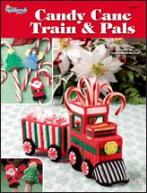 Candy Cane Train & Pals