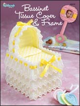 Bassinet Tissue Cover & Frame