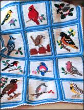 Songbird Afghan & Pillow