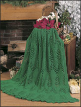 The Greens of Christmas Afghan