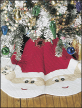 Jolly Santa Tree Skirt