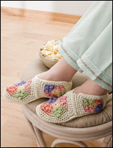 Granny Square Booties