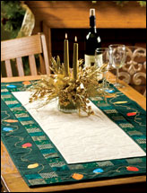 Holiday Lights Table Runner