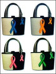 Ribbon Awareness Totes & Accessories