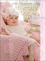Patricia Kristoffersen's Beautiful Borders Baby Blankets