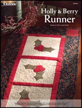 Holly & Berry Runner