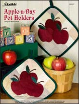 Apple-a-Day Pot Holders
