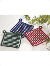 Pretty Checks Pot Holders