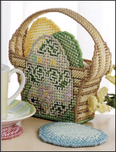 Egg Basket Coasters