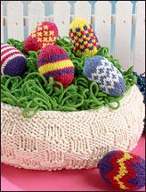Easter Basket & Eggs