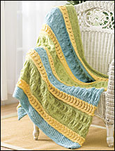 Breezy Ruffles Throw