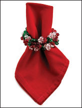 Holly Jolly Napkin Wreath
