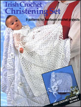 Irish Crochet Christening Set
