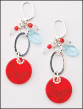 Cherry Flutters Earrings