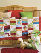 Cute as a Bug Baby Quilt