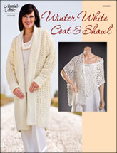 Winter White Coat & Shawl