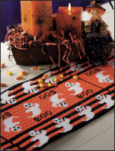 Boo Table Runner