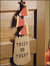 Trick-or-Treat Wall Hanging